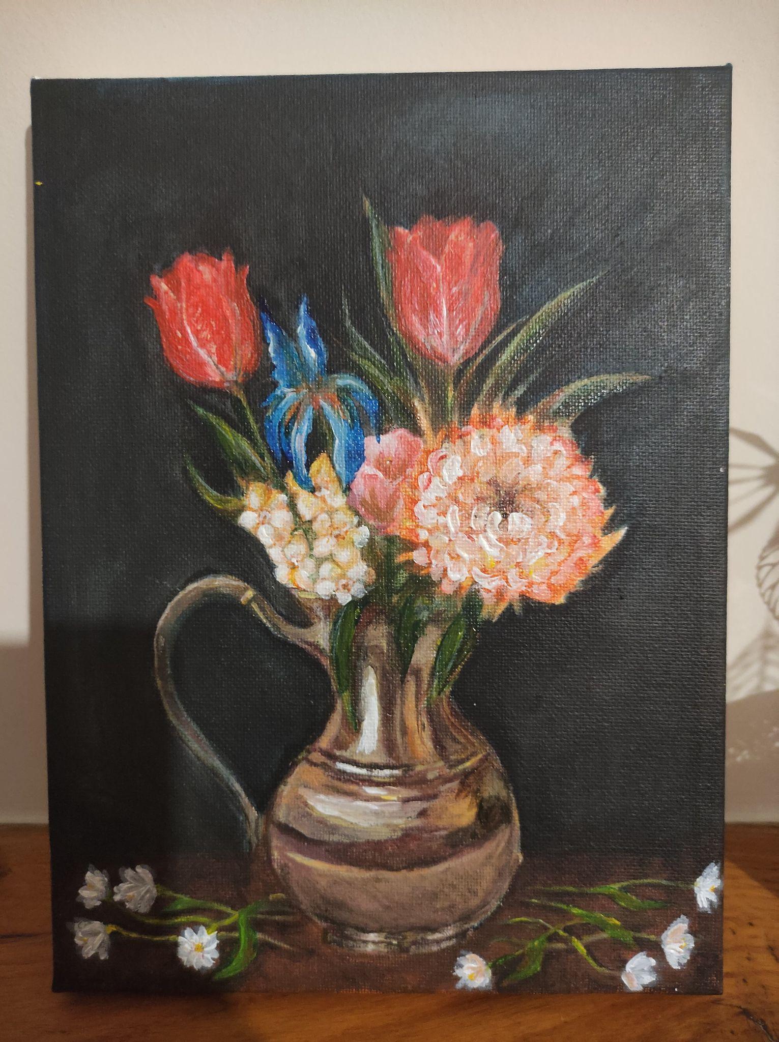 Flowers inspired by Jan Brueghel